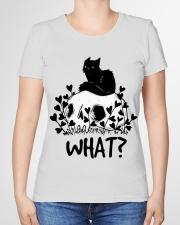 What cat Premium Fit Ladies Tee garment-premium-tshirt-ladies-front-01