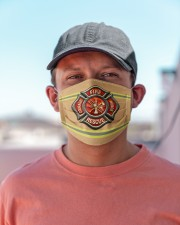 Firefighter Life 1 Cloth face mask aos-face-mask-lifestyle-06