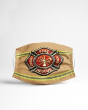 Firefighter Life 1 Cloth face mask aos-face-mask-lifestyle-22