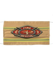 Firefighter Life 1 Cloth face mask front