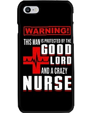 PROTECTED BY A NURSE Phone Case thumbnail