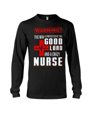 PROTECTED BY A NURSE Long Sleeve Tee thumbnail