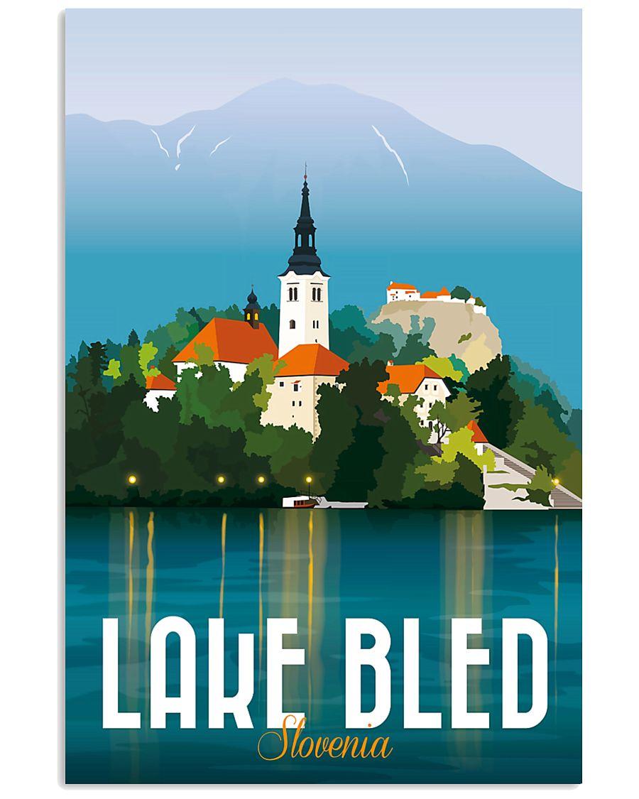 LAKE BLED 16x24 Poster