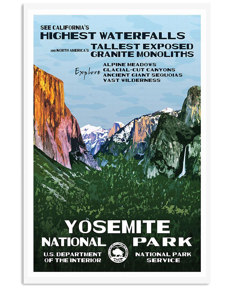 YOSEMITE 11x17 Poster