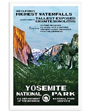 YOSEMITE 11x17 Poster front