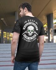 SOCIAL DISTANCING T-SHIRT Classic T-Shirt apparel-classic-tshirt-lifestyle-back-48