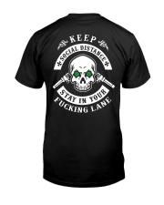 SOCIAL DISTANCING T-SHIRT Classic T-Shirt back