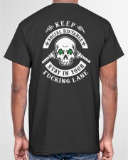 SOCIAL DISTANCING T-SHIRT Classic T-Shirt garment-tshirt-unisex-back-04