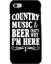 COUNTRY MUSIC AND BEER Phone Case thumbnail