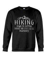 HIKING DOGS - COFFEE Crewneck Sweatshirt thumbnail