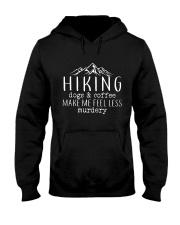 HIKING DOGS - COFFEE Hooded Sweatshirt thumbnail