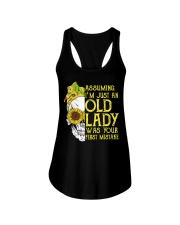 ASSUMING I'M JUST AN OLD LADY Ladies Flowy Tank thumbnail