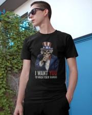 I WANT YOU T-SHIRT Classic T-Shirt apparel-classic-tshirt-lifestyle-17