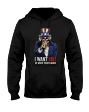I WANT YOU T-SHIRT Hooded Sweatshirt thumbnail