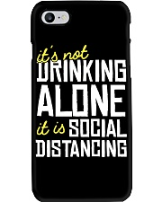 DRINKING ALONE Phone Case thumbnail