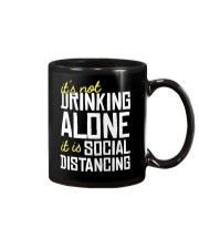 DRINKING ALONE Mug thumbnail