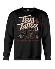 TIRES AND TATTOOS Crewneck Sweatshirt thumbnail