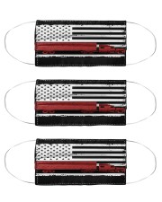 TRUCKER US FLAG Cloth Face Mask - 3 Pack front