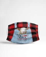 Farm Girl - ln  sheeps Cloth face mask aos-face-mask-lifestyle-22