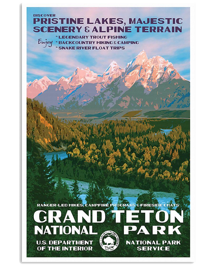 GRAND TETON 16x24 Poster