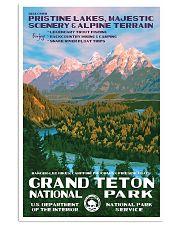 GRAND TETON 16x24 Poster front