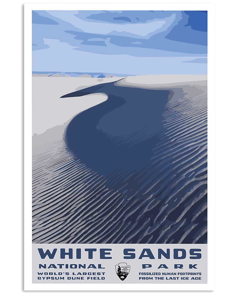 WHITE SAND NATIONAL PARKS 16x24 Poster