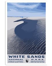 WHITE SAND NATIONAL PARKS 16x24 Poster front
