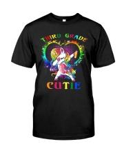 THIRD GRADE CUTIE UNICORN Classic T-Shirt thumbnail