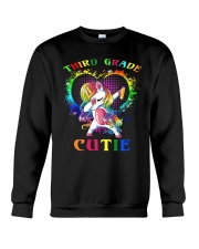 THIRD GRADE CUTIE UNICORN Crewneck Sweatshirt thumbnail