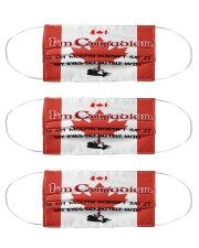 I'm Canadian My Eyes Definitely Say It  Cloth Face Mask - 3 Pack front