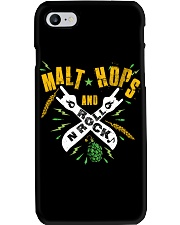 MALT HOPS AND ROCK N ROLL Phone Case thumbnail