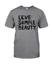 LOVE SIMPLE BEAUTY Classic T-Shirt thumbnail
