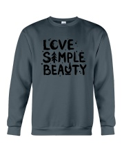 LOVE SIMPLE BEAUTY Crewneck Sweatshirt thumbnail