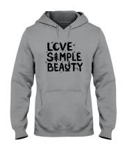 LOVE SIMPLE BEAUTY Hooded Sweatshirt thumbnail