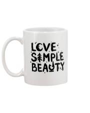 LOVE SIMPLE BEAUTY Mug back