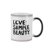 LOVE SIMPLE BEAUTY Color Changing Mug thumbnail
