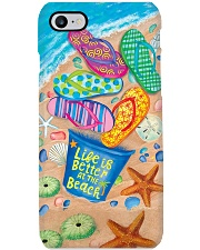 LIFE IS BETTER AT THE BEACH Phone Case i-phone-8-case