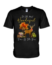 IT'S THE MOST WONDERFUL TIME OF THE YEAR V-Neck T-Shirt thumbnail