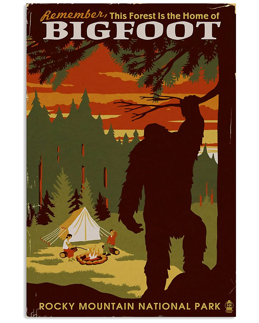 HOME OF BIGFOOT 11x17 Poster
