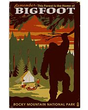 HOME OF BIGFOOT 11x17 Poster front