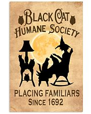 BLACK CAT HUMANE SOCIETY 11x17 Poster front