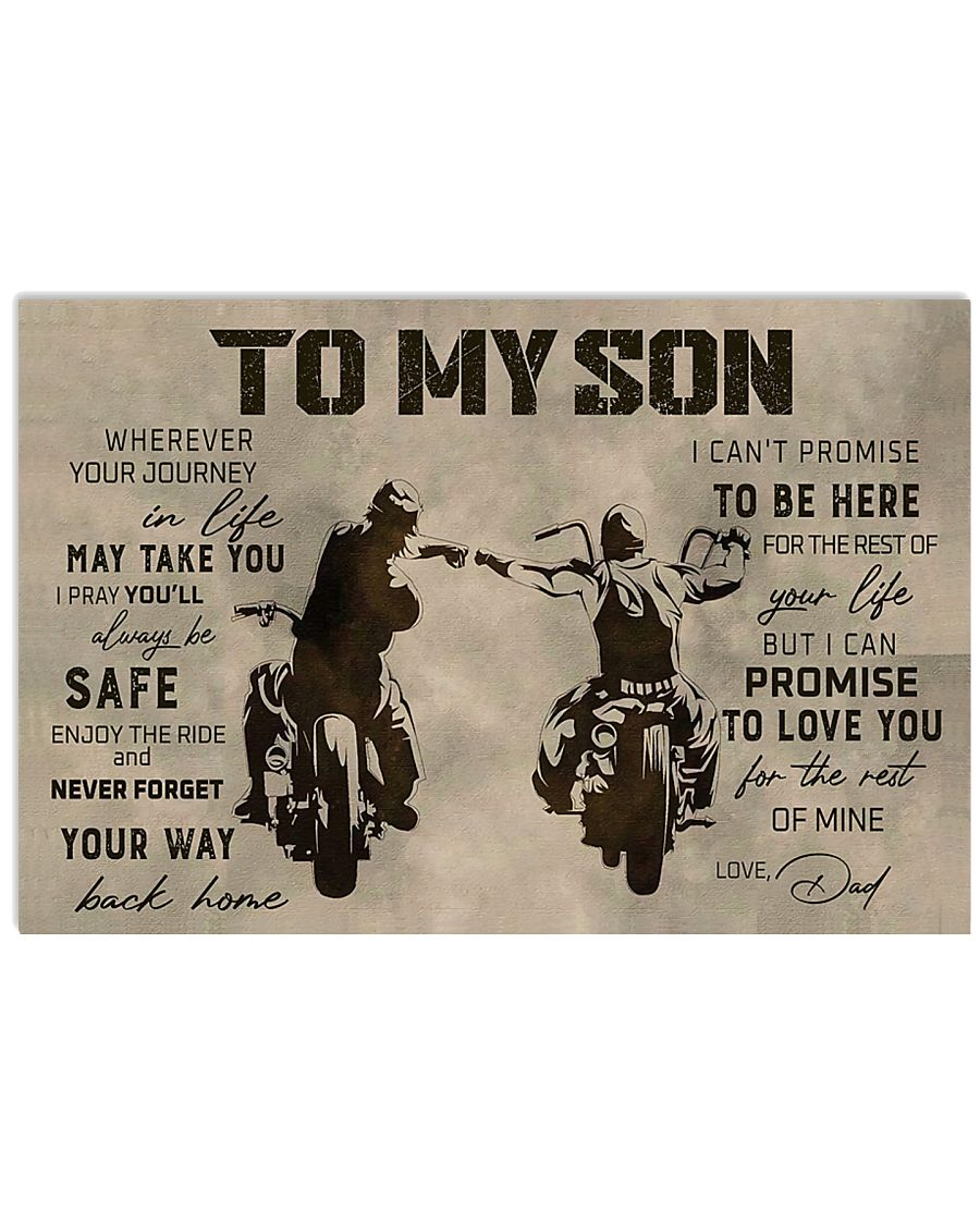 TO MY SON 24x16 Poster