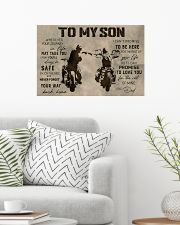TO MY SON 24x16 Poster poster-landscape-24x16-lifestyle-01