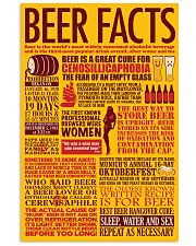 BEER FACTS 24x36 Poster front