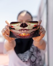 SUGAR SKULL GIRL Cloth face mask aos-face-mask-lifestyle-07