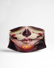 SUGAR SKULL GIRL Cloth face mask aos-face-mask-lifestyle-22