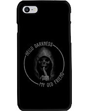 HELLO DARKNESS T-SHIRT Phone Case thumbnail