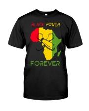 BLACK POWER Classic T-Shirt front