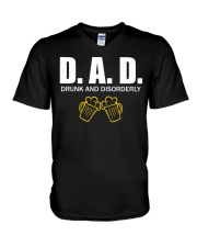 DRUNK V-Neck T-Shirt thumbnail