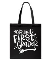 OFFICIAL FIRST GRADER Tote Bag thumbnail